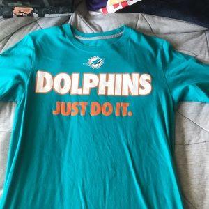 Nike Miami Dolphins Shirt Size Small